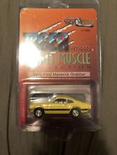 Tiger Wheels Yellow 70 Ford Maverick Grabber HTF 1/1250