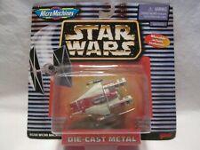 "Vtg. GALOOB ""Star Wars"" Micro Machines Series 66260 'A-Wing Starfighter' Figure"