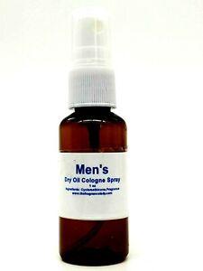 Sandalwood Vanilla Dry Oil Men's Cologne Body Spray Fragrance 1 oz One Bottle