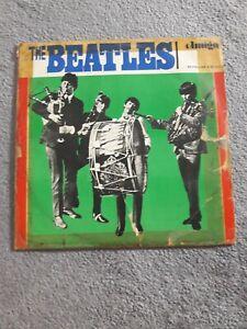 THE BEATLES Trommelcover Vinyl LP Version DDR 1966 AMIGA 850040