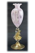 Vetro di murano glass Calice Tipetto in Reticello da collezione Vetreria D'Este