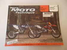 REVUE TECHNIQUE MOTO KTM ENDURO 250 ET 300 ET YAMAHA ENDURO WR 400 F