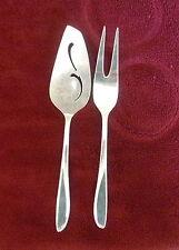 "International Silver/Holmes ""Rhythmic"" Silverplate Party Pair Dessert Servers"