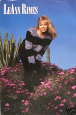 """Leann Rimes """"Cactus"""" U.S. Promo Poster - Country Music"""