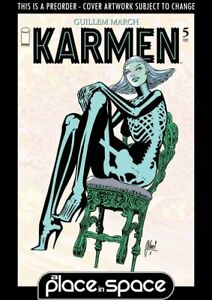 (WK27) KARMEN #5B (1:25) B&W VARIANT - PREORDER JUL 7TH