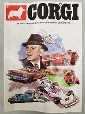 1976 Corgi Diecast Car Catalog...Kojak, Batmobile. (G9)