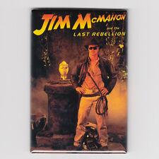 "JIM McMAHON / LAST REBELLION 2"" x 3"" POSTER FRIDGE MAGNET costacos nike bears"