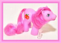 ❤️Vtg My Little Pony Phony Fake Fakie Pink Red Apple Baby Drink 'n' Wet Pony❤️
