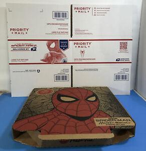 Pizza Hut Spider-Man Homecoming Box Spiderman Spider Man Collectible + Bonus!
