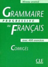 Grammaire Progressive Du Francais Level 3: Corriges