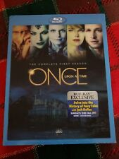 NEW Once Upon a Time: The Complete First Season 1 (Blu-ray Disc 2012, 5-Disc Set