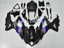 Fit for GSXR600/750 2008-2010 2009 Matte Black ABS Injection Mold Fairing Kit
