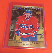 2015 TIM HORTON'S CANADA HOCKEY CARD JACOB DE LA ROSE MONTREAL CANADIENS #SF-12