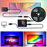 RGB WS2812B LED-Streifen USB 5V LED Hintergrund Hintergrundbeleuchtung Monitor