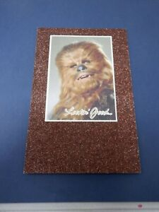 Star Wars Chewbacca  Happy Birthday Greeting Card American Greetings New HC2777