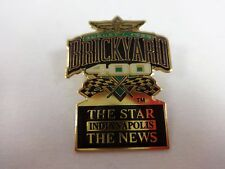 1999 Brickyard 400 Event The Star & The News Sponsors Collector Pin Indy Nascar