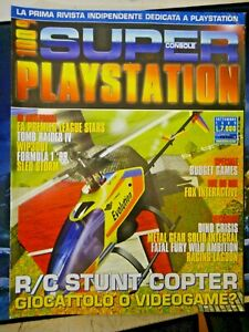 RIVISTA PLAYSTATION 1 - SUPER CONSOLE PLAYSTATION SETTEMBRE 1999 -