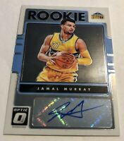 Jamal Murray 2016-17 Donruss Optic Rookie Autograph Rookie RC Auto Nuggets PSA