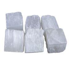 Selenit weiß1 kg Wassersteine Rohsteine Steinewasser Edelsteine Heilstein