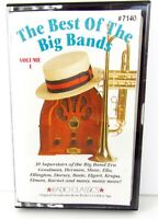 The Best of the Big Bands Vol.1 Cassette Tape  Shaw Basie Goodman Dorsey B1