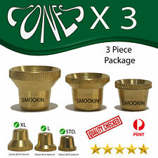 package Cone pieces metal cones pipe brass pipes brass cones