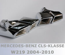 Exhaust manifold tailpipes TIPS FOR Mercedes CLS W219 W221 W166 W212 W164