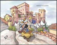 Maldives 1992 Disney/Mickey/StampEx/Cartoons/Animation/Alhambra 1v m/s (b1490)