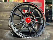 [Free Shipping] New 15 inch Mugen MF10 Design Wheel BLACK (set of 4 pcs) Honda