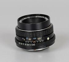 Asahi SMC Pentax-M 1:2 50mm // K PK