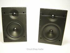 """NOS Pair of B&W 6"""" 2-Way In-Wall Speakers / CWM 362"""