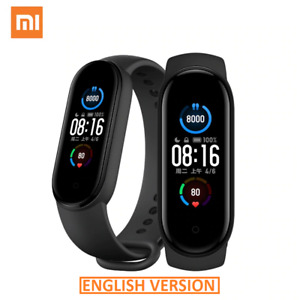 2020 Xiaomi Mi Band 5 Smart Watch AMOLED Bluetooth 5.0 Heart Rate Fitness 5ATM