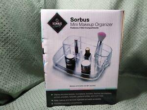 Sorbus Mini Makeup Organizer w/9 Slot Compartments