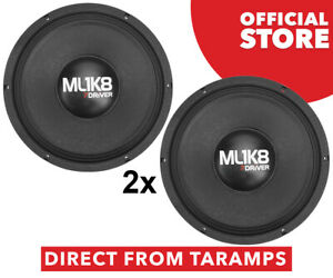 """2x 7Driver 12"""" ML 1K8 6 Ohm Speaker 900W RMS by Taramps Direct From Taramps"""