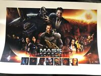 Mass Effect Trilogy N7 Day Lithograph / Lithographie Art