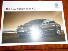 VW CC range brochure Apr 2012