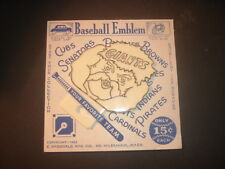 """1952 New York Giants 4"""" Bicycle Reflector / Ice Scraper MINT ON CARD"""