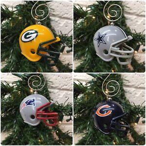 Custom Handmade NFL Helmet Christmas Hanging Ornament LOTS OF TEAMS‼ • FREE S/H‼