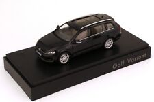 VW GOLF VII 7 GT TDI TSI ESTATE VARIANT DEEP BLACK 1:43 SPARK (DEALER MODEL)