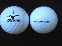 """10  MIZUNO -  """"JPX-S"""" -  Golf Balls  - 2016/17/18 MODELS - """"PEARL/A""""  Grades."""