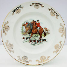 VINTAGE Royal Stuart Spencer Stevenson Insalata Piatto Cavallo Hound Hunt