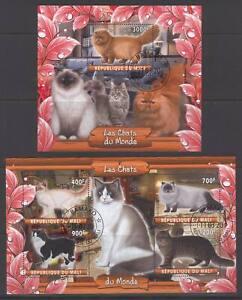 SVVGTA D95 limited 2019-2020 Domestic Animals Cats 2 sheets
