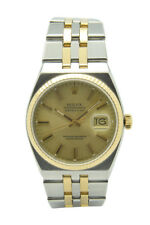 Rolex oysterquartz Datejust acero oro reloj ref. 17013/1991 Ø 36mm