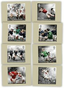 Rugby Union Stamp PHQ Cards 2021 - Pre Order 19th October