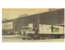 BOB HOFFMAN York Barbell Company Warehouse w/Tractor Trailer Muscle Photo B+W