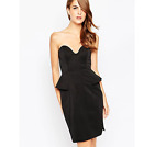 Finders Keepers Take a Shot Dress - Black