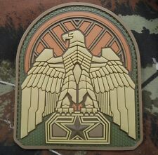 INDUSTRIAL EAGLE 3D PVC US ARMY ISAF MORALE MULTICAM VELCRO® BRAND PATCH