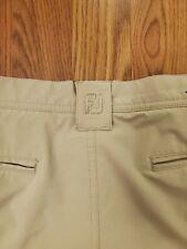 Footjoy Khaki Golf Shorts Size W38