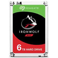 Seagate Ironwolf 6000gb serial ata III disco duro interno