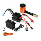 GoolRC 3650 4300KV Motor Combo Set with 60A Brushless  for 1/10 RC Car S1S5
