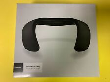 Bose Soundwear Companion Wireless Wearable Speaker - Black - (771420-0010) - NEW